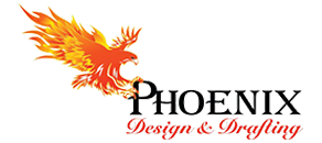 Phoenix Design and Drafting, Logo
